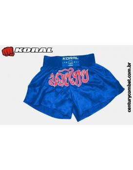 Short Koral Muay Thai Azul