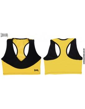 Top Rudel V2 Preto Amarelo