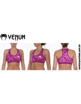 Top Venum Feminino Fusion Rosa