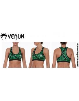 Top Venum Feminino Fusion Verde